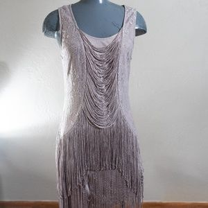 Flapper Style Cocktail Dress Size 12US